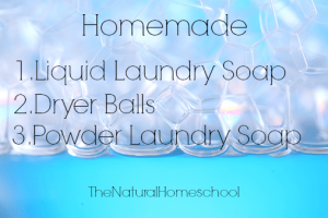 Homemade Laundry Detergent and Softener Recipes