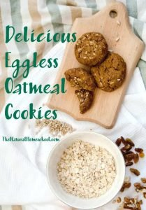 Delicious Eggless Oatmeal Cookies