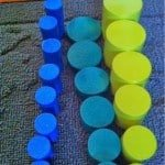 Montessori Sensorial: Knobless Cylinders