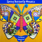 Spring Butterfly Mosaics