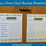 chore chart routine