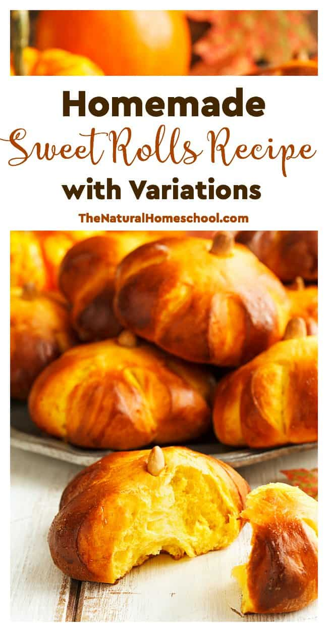 homemade-sweet-rolls-recipe-with-variations