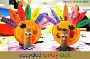 Upcycled Turkey Craft for Thanksgiving
