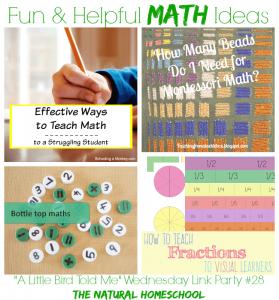 Fun and Helpful Math Ideas