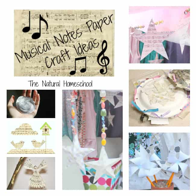 Music Paper Crafts Main