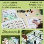 """For the Love of Trees"" Lessons, Books, FREE Printables & Hands-on Activities"