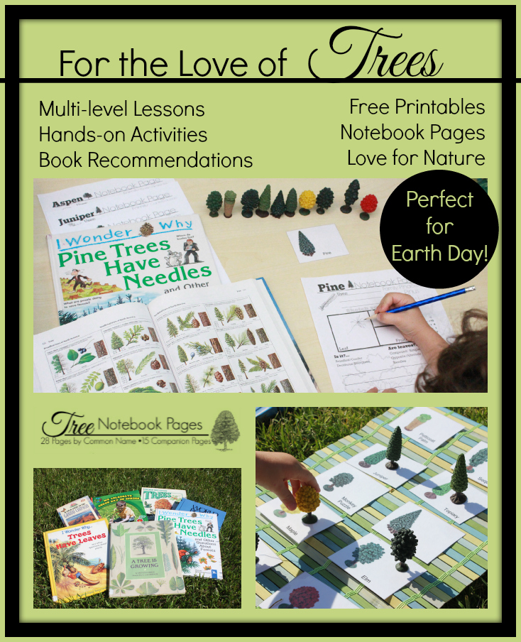For the Love of Trees Lessons Books FREE Printables  Handson