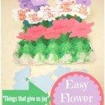 """""""Things That Bring Us Joy"""" Easy Flower Craft"""
