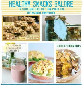 healthy snacks galore and link party 36