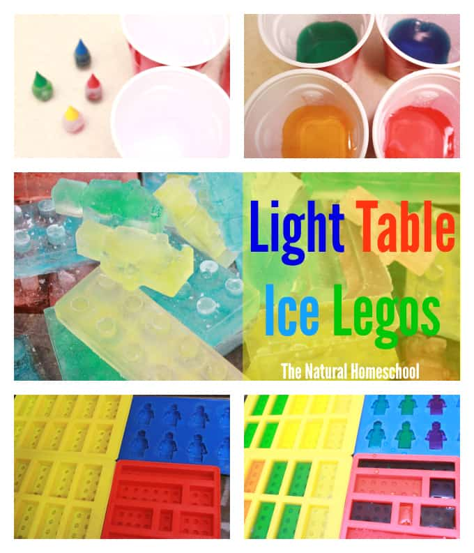 Epic Light Table Ice Legos & More!