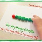 The Very Hungry Caterpillar Pom-Pom Craft