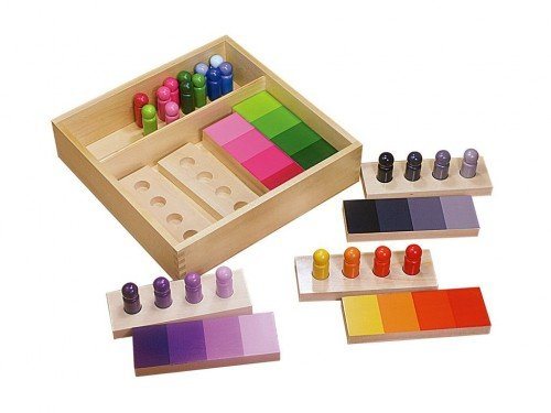 Montessori inspired color wheel activities free for Waste material activity