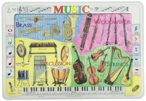 Montessori Music: Sorting & Labeling Musical Instruments {Free Printable}