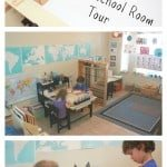 Our 2015 Homeschool Room Tour