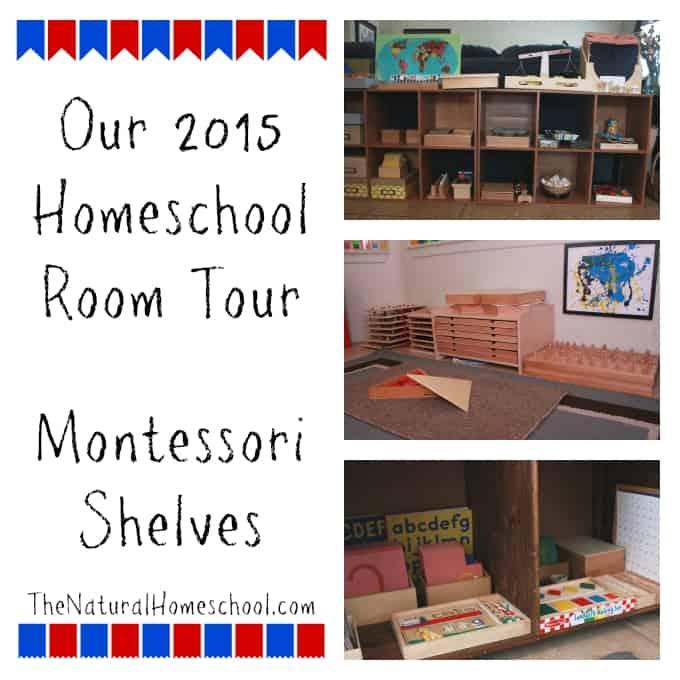 Our 2015 Homeschool Room Tour