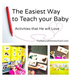 The Easiest Way to Teach Your Baby (Activities that He Will Love)