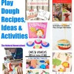 Play Dough Recipe for Kids, Ideas & Activities (Link Party #57)