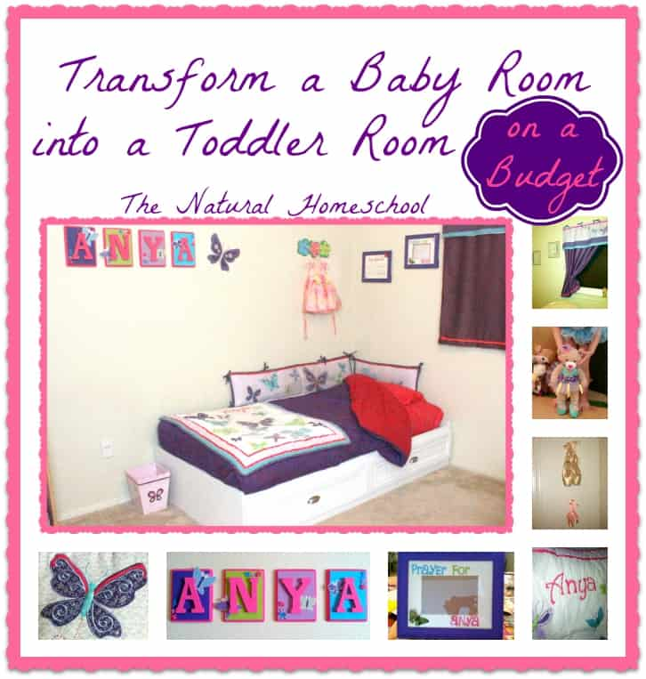 Designing A Baby Room To Become A Toddler Room On A Budget