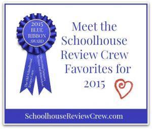 The Schoolhouse Review Crew Favorite Vendors for 2015