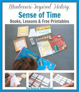 Montessori-Inspired History: Sense of Time {Free Printables + GIVEAWAY}