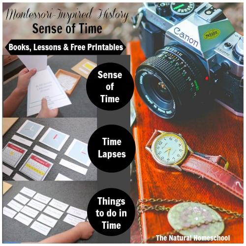 Montessori-Inspired History: Sense of Time {Free Printables}