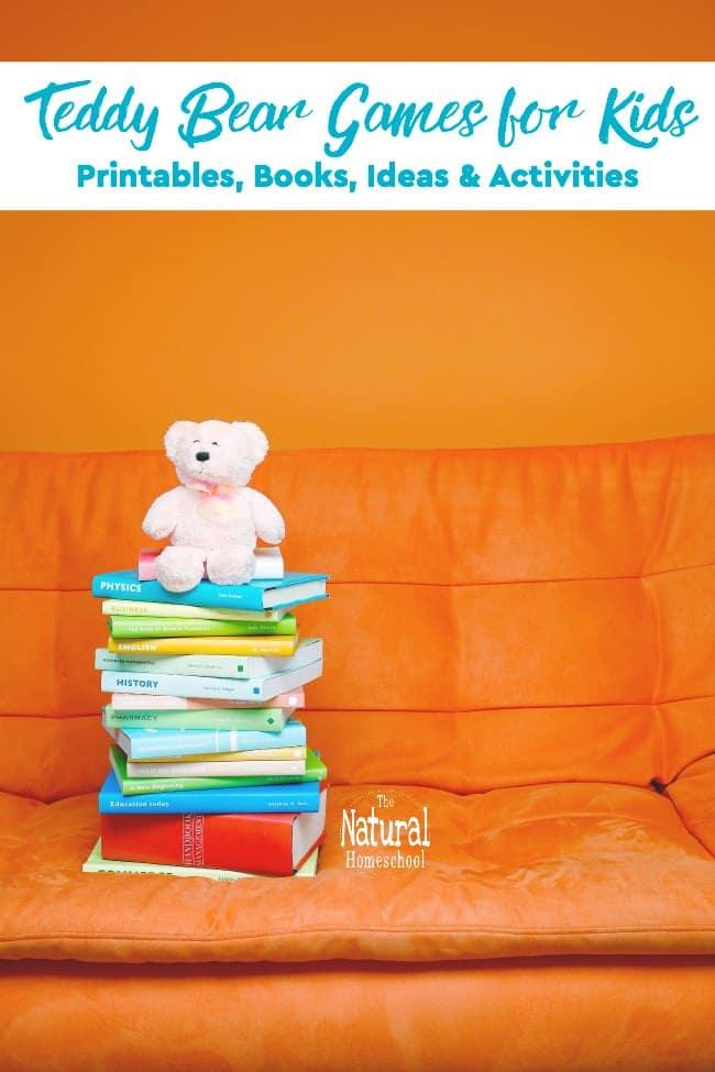 Teddy Bear Games for Kids Printables Books Ideas