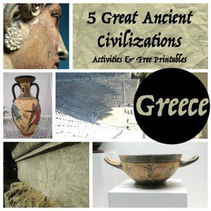 Ancient Greece for Kids {Free Printables}