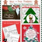 Countdown to Christmas Ideas & Free Printables {Link Party #67}