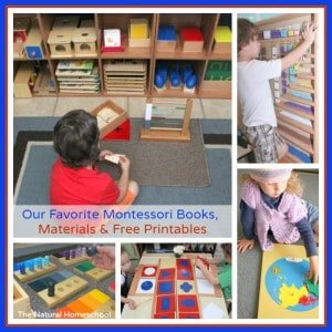 Our Favorite Montessori Books, Materials & Free Printables