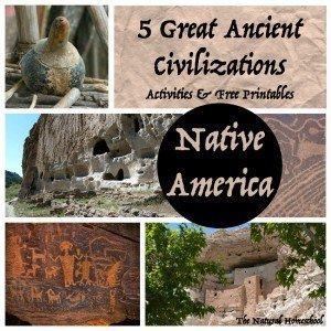 Ancient Native America & Ancient Maya Civilization Art & Architecture {Freebies}