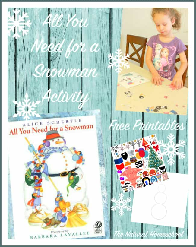 Printable Snowman Patterns {Children's Books & Activity}