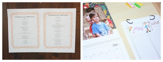 Montessori Curriculum: Holidays & Observances during the Calendar Year {Free Printables}