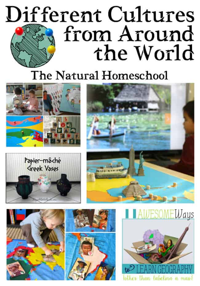 Different Cultures From Around The World Link Party 75 Natural Homeschool