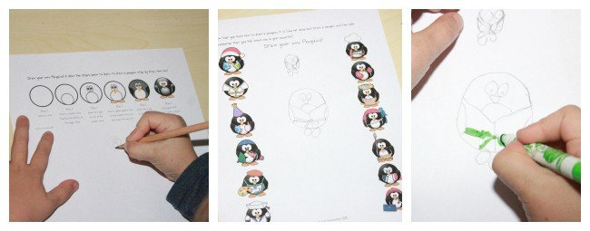 Penguin Books & Activity {Free Printable Pages}
