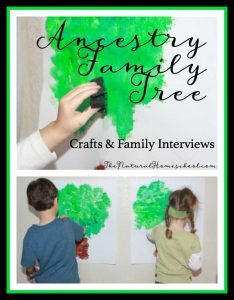 Ancestry Family Tree {Crafts & Family Interviews}