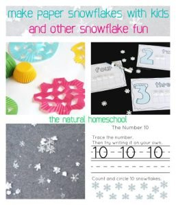 Make Paper Snowflakes with Kids and Other Snowflake Fun {Link Party 76}