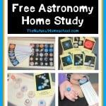 Free Astronomy Home Study {Printable Set}