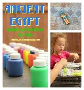Ancient Egypt Activities for Kids {Crafts & Printable}