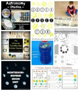 Outer Space Facts and Fun Activities! {Link Party 87}