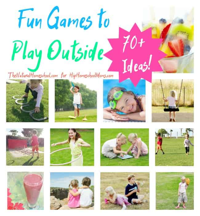 Fun Games to Play Outside {70+ Ideas!} - The Natural ... Funny Games To Play