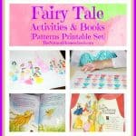 Fairy Tale Activities & Books {Princess Pattern Printable}