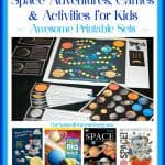 Space Adventures, Games & Activities for Kids {Printable Sets}