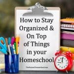 Awesome Homeschool Organizer & Planner {Coupon Code}
