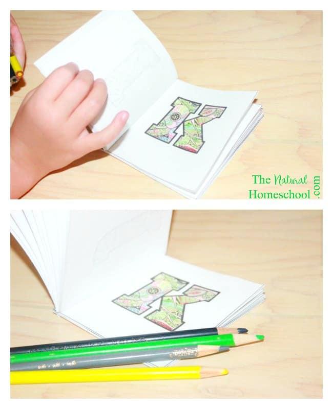 Kids' Alphabet Coloring Pages