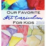Our Favorite Art Curriculum for Kids {HUGE GIVEAWAY}
