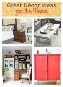 Great Décor Ideas for the Home {Link Party 105}