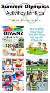Summer Olympics Activities for Kids {Link Party 102}