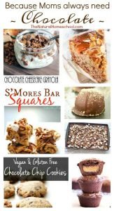 Because Moms always need CHOCOLATE {Link Party 103}