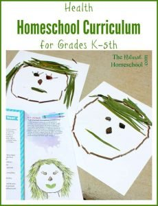 Health Homeschool Curriculum for Grades K-5th {Coupon Code}