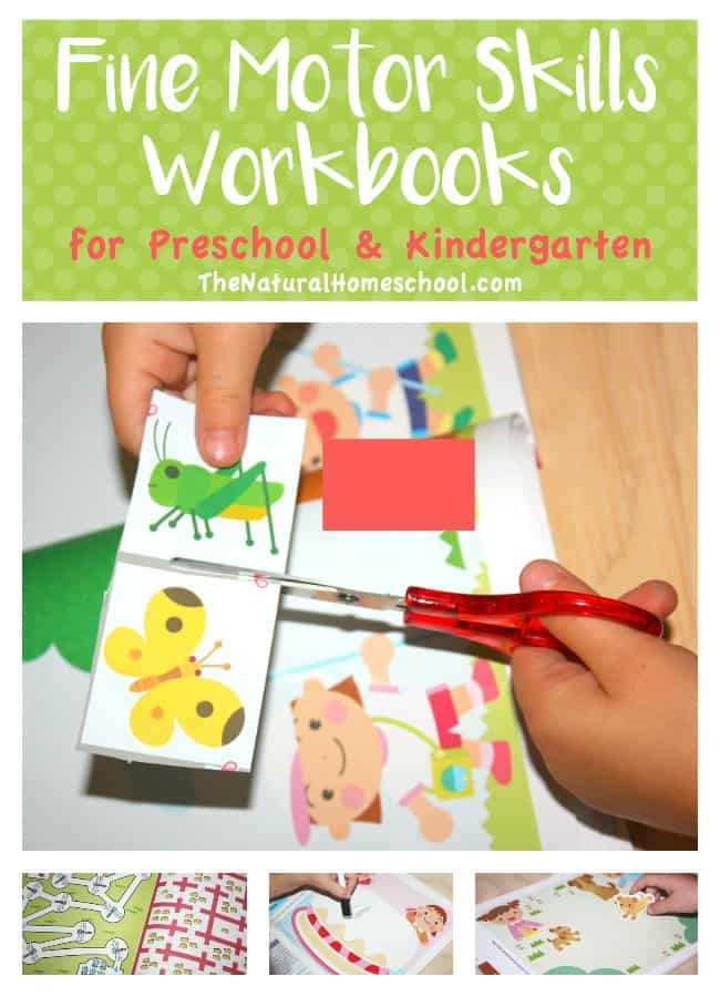 Fine motor skills workbooks for preschool kindergarten for List of fine motor skills for preschoolers